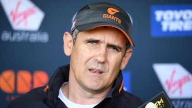 The Giants are keen to lock in a contract extension with coach Leon Cameron.