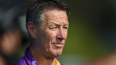 Storm coach Craig Bellamy knows his players will be targeted by Wayne Bennett's Redcliffe.