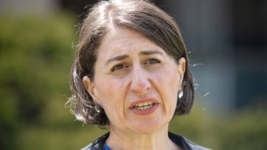 Homes with outdoor areas can host 50 people from December 1, NSW Premier Gladys Berejiklian has announced.