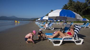 Four Mile Beach in Port Douglas.