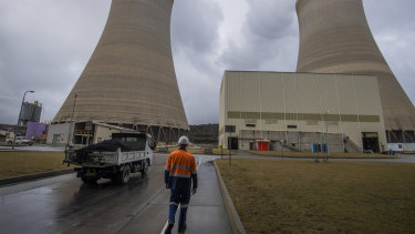 EnergyAustralia's Mt Piper coal-fired power station in NSW.