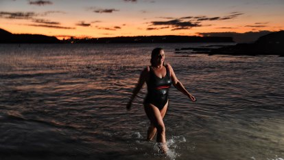 'Sparklingly alive': ocean swimming an unlikely winter remedy