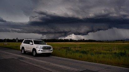 Tornado warning eased as 'very dangerous' storms hit Sydney