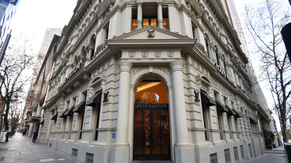 Jewel in the Crown: Collins St's landmark Louis Vuitton building for sale