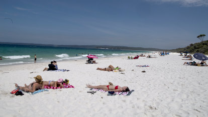 A tale of two summers for beach loved to death, then deserted