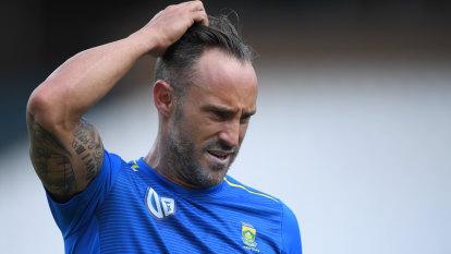 Du Plessis steps down as Proteas captain