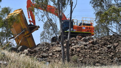 West Gate Tunnel project has landed state government in a big hole