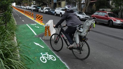 Sydney's pop-up cycleways to remain for another two years