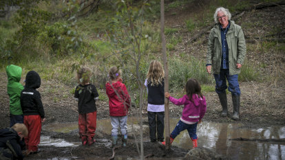 Play program puts children in touch with nature