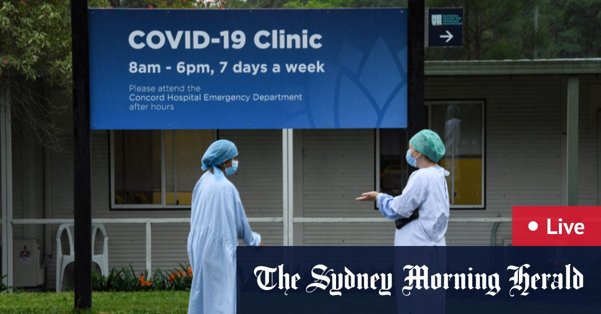 Coronavirus updates LIVE: Victoria debates Melbourne's curfew and CHO Brett Sutton's role as NSW tackles the growing Concord Hospital cluster – The Sydney Morning Herald