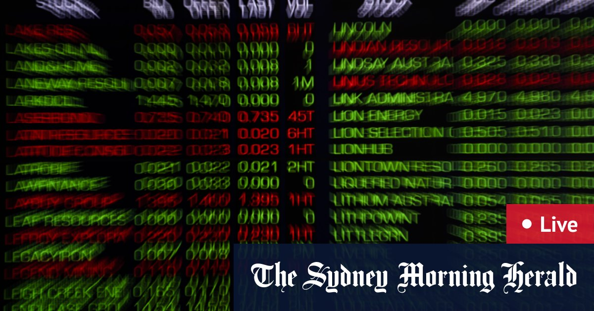 ASX up 0.3%; banks higher Treasury Wine and gold miners drag – The Sydney Morning Herald