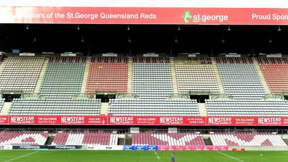 Bye-bye Ballymore? The Queensland stadiums taskforce wants the stadium's stands demolished to make way for a community facility.