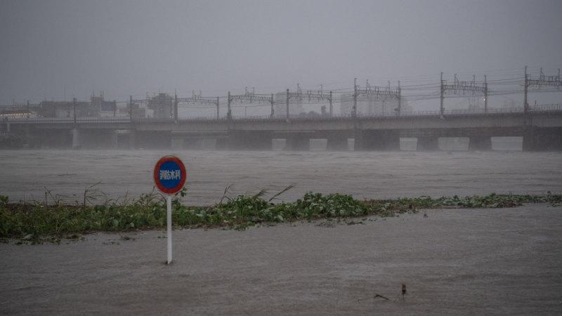 One killed in Japan as Typhoon Hagibis nears capital, millions advised to evacuate