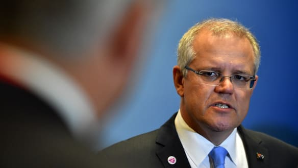 Morrison calls for US leadership on free trade, warns of breakdown of rules