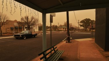 Dust storms swept much of NSW on Saturday as strong north and northwesterly winds tore topsoil from drought parched farmlands