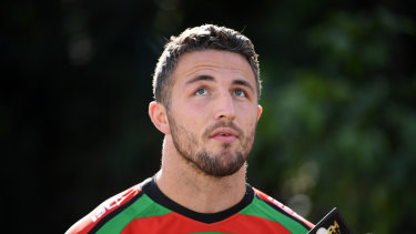 Sam Burgess has been under scrutiny for his comments about the NRL judiciary system.
