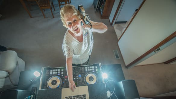 At 61, Calwell mum and DJ Sue Freeman is living the dream