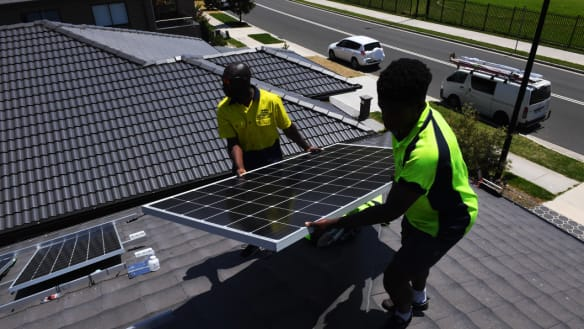 'Records falling everywhere': solar panel demand goes through the roof