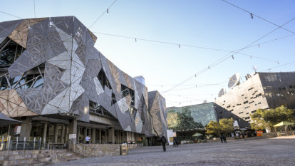 Fed Square added to state's heritage register just 17 years after opening