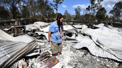 'Devastated': Bushfires destroy at least 45 homes in northern NSW