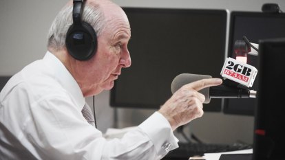 Ardern backlash makes little dent on Alan Jones' radio ratings