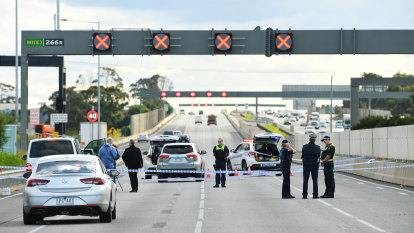 Police union defends use of lethal force in Monash Freeway shooting