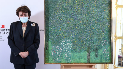 Nazi-looted Gustav Klimt painting to go to rightful Jewish heirs