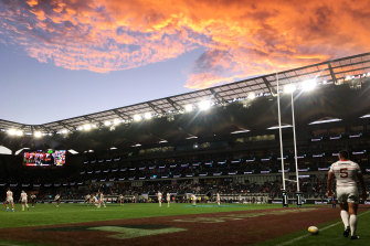 The 30,000-seat Bankwest Stadium in Parramatta cost around $300 million to build.