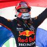 Verstappen takes championship lead with Dutch Grand Prix win