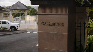 Cranbrook headmaster Nicholas Sampson said his school, which has some of the steepest fees at $38,862, was aware that COVID-19 had an impact on many of its families.