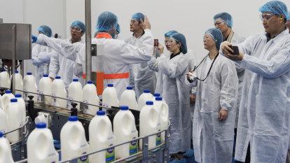 Australia to push China to match dairy trade concessions made to US