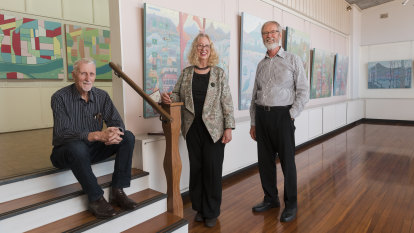 An art era closes in Artarmon with a painter of perserverance