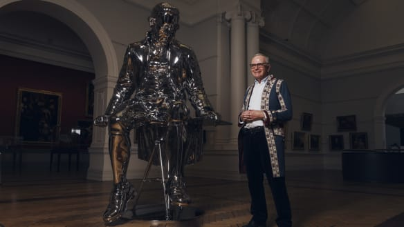 Time for a shiny new look for Captain Cook