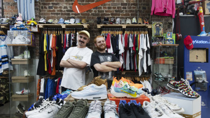 Why Millennial men are tapping into the vintage streetwear market