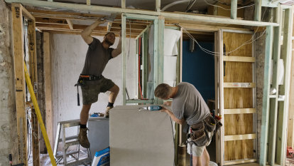 Renovation rescue with sector set to get back on the tools next week