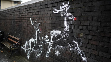 A new Banksy artwork has appeared on a wall in Birmingham.