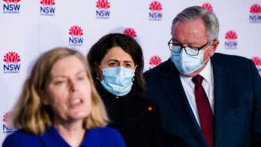 Premier Gladys Berejiklian has consistently said all decisions in the pandemic are based on health advice.