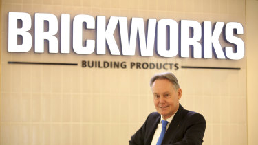 Brickworks boss Lindsay Partridge says the company has deferred the letting of major contracts on a new brick plant by three months, but expects the building industry to be more resilient than other industries to coronavirus fallout.