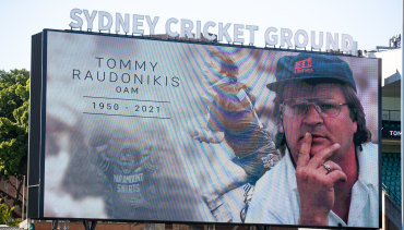 Rugby league remembers Tommy Raudonikis.
