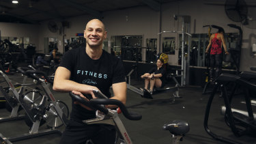 """Ruben Rocha, owner of Marrickville's At Ruben's Health and Fitness Gym, said business confidence was """"definitely building"""" following disruptions caused by the coronavirus."""