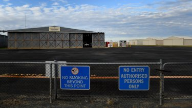 The former Deniliquin Council hoped to turn the local airport into a freight hub for China-bound produce.
