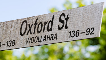 The pocket of land lies between two houses in Oxford Street, Woollahra.