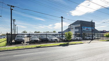 Five parties went to second-round offers to snap up a car yard at 254A-268 Ballarat Road in Braybrook.