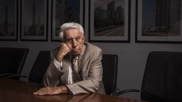 Harry Triguboff's company launched legal action against Premier Gladys Berejiklian, days before the March state election.
