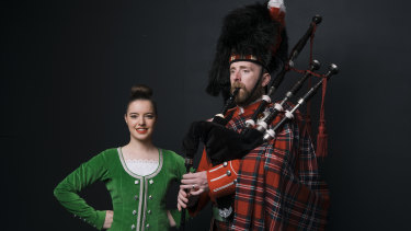 Felicity Warren and Dougie McFarland are part of the extensive Scottish music and dance community in Australia.