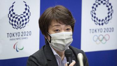 Tokyo 2020 Organising Committee president Seiko Hashimoto.