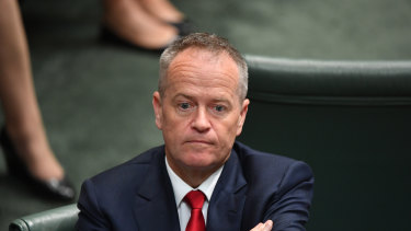 Bill Shorten during question time on Thursday.