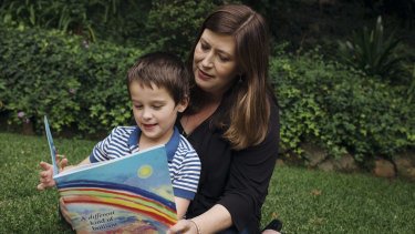 Seven-year-old Lachlan was diagnosed with autism at just 18 months old.