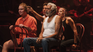 Ernie Dingo gives a charismatic performance.