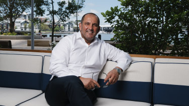 'I love hospitality': chef Guillaume Brahimi at Crown Sydney.